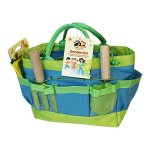 Tierra-Garden-7-LP095-Little-Pals-Kids-Garden-Kit-with-Watering-Can-Hand-Trowel-Hand-Fork-and-Gloves-Green-0-0