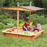 Tierra-Garden-G31001-Large-Childrens-Wooden-Sandbox-With-Roof-0-2