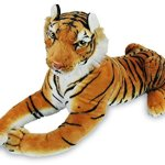 Tiger-Realistic-Big-Cat-Soft-Stuffed-Toy-Cuddly-Plush-Pillow-Companion-for-Kids-and-Adults-BPA-Free-72-x-12-x-18-6-pounds-Orange-Large-0-1