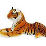 Tiger-Realistic-Big-Cat-Soft-Stuffed-Toy-Cuddly-Plush-Pillow-Companion-for-Kids-and-Adults-BPA-Free-72-x-12-x-18-6-pounds-Orange-Large-0