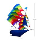 Tresbro-Sailing-Ship-Kite-Flying-for-Beach-3D-Cool-Big-Chinese-Kites-for-Kids-and-Adults-Outdoor-Games-and-Activities-for-Fun-and-Memorable-0-0