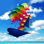 Tresbro-Sailing-Ship-Kite-Flying-for-Beach-3D-Cool-Big-Chinese-Kites-for-Kids-and-Adults-Outdoor-Games-and-Activities-for-Fun-and-Memorable-0