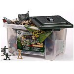 True-Heroes-Ultimate-Military-Playset-100-piece-set-with-storage-container-0