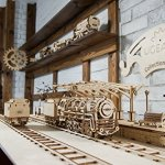 UGEARS-Bundle-3-in-1-Locomotive-Railway-Platform-Rails-Mechanical-3D-Puzzle-Eco-Friendly-Gift-Brainteaser-DIY-Teens-Adults-Boys-Kids-Toys-0-2