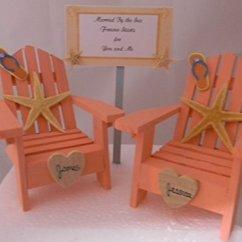 Yeti Chair Accessories Assisted Pull Up Wedding Reception Adirondack Chairs Beach Real Starfish Cake Topper Sign   Hobby Leisure Mall