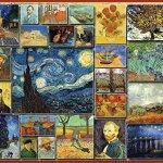 White-Mountain-Puzzles-Great-Painters-Collection-Vincent-Van-Gogh-1000-Piece-Jigsaw-Puzzle-0