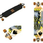 WiiSHAM-Professional-Speed-Downhill-Drop-Through-Complete-Longboard-Skateboard-With-Free-T-tools-0-1