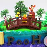 Winnie-the-Pooh-100-Acre-Woods-Birthday-Cake-Topper-Set-Featuring-Figures-and-Decorative-Accessories-0-0