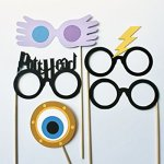 Wizard-Photo-Booth-Props-17-Pieces-Includes-Magic-Wands-Snow-Owl-Scarves-and-more-0-2
