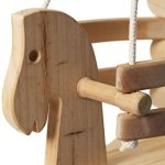 Wooden-Horse-Swing-Set-for-Toddlers-Smooth-Birch-Wood-with-Natural-Cotton-Ropes-Outdoor-Indoor-Swing-Eco-Conscious-Toddler-Bucket-Swing-Chair-For-Baby-6-Months-to-3-Years-Old-by-EcoTribe-0-0