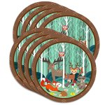 Woodland-Animals-Birthday-Party-Supplies-Set-Plates-Napkins-Cups-Tableware-Kit-for-16-0-0