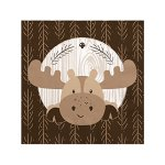 Woodland-Creatures-Baby-Shower-or-Birthday-Party-Tableware-Plates-Cups-Napkins-Bundle-for-32-0-1