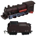 WowToyz-Classic-Train-Classic-Train-Set-40-Piece-with-Steam-Engine-0-1