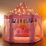 Yoobe-Hexagon-Princess-Castle-Play-Tent-Indoor-for-Kids-Gift-0-0