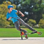 Yvolution-Y-Fliker-Carver-C5-KidsAdult-Drifting-Scooter-Available-in-Multiple-Colors-0-1