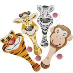 Zoo-Animal-Safari-Party-Supplies-and-Favors-12-Treat-Boxes-12-Animal-Masks-144-Tattoos-12-Paddle-Balls-12-Make-Zoo-Stickers-12-Notebooks-100-Stickers-24-Stampers-1-Zoo-Animal-Tablecloth-0-2
