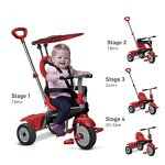 smarTrike-Zoom-4-in-1-Baby-Tricycle-Red-0-0