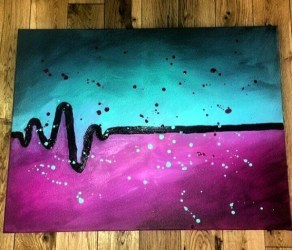 Abstract Simple Cute Easy Paintings Easy Painting Ideas For Those Blank Walls Of Yours