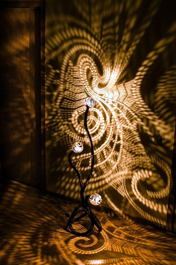 15 Creative And Cheap Indoor Wall Lamps Ideas