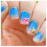 fresh beach nail art teen