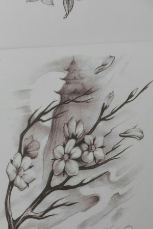pencil drawings flower easy flowers drawing inspiration sketch sketches landscape simple floral cool draw realistic monkey using watercolors then colors
