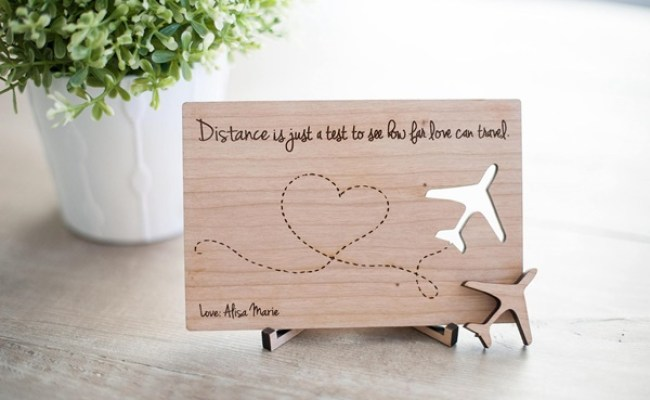7 Cute Gift Ideas For Long Distance Relationship