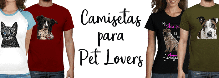 Camisetas para Pet Lovers
