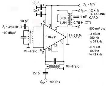 Listen to DRM Digital Radio Broadcasts. A 12 kHz Converter