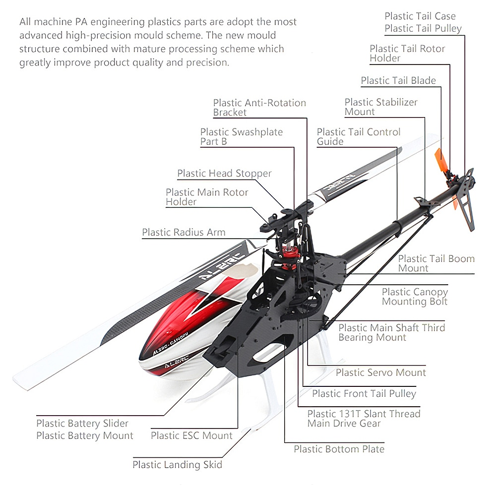 ALZRC-X360-FBL-Professional-Stunt-RC-Helicopter-6CH-3D