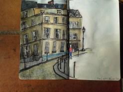 A street corner in Paris