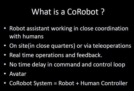 WhatIsACoRobot