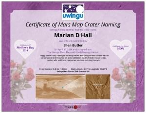 MOM-Uwingu-Certificate
