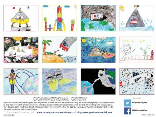 CommercialCrewCalendar_ChildrensArt
