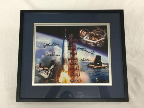 Mercury astronaut signed photo.