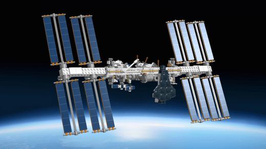 LEGO ISS Model