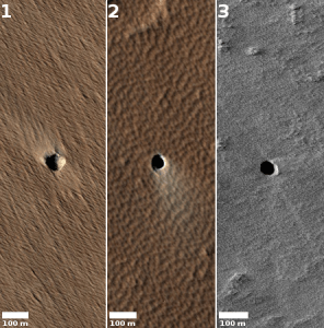 Martian Atypical Pit Craters