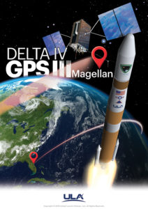 ULA Delta IV GPS III Mission Art