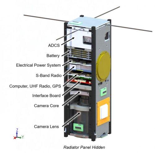 ASU Phoenix Cubesat Diagram