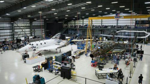 The next spaceship being manufactured