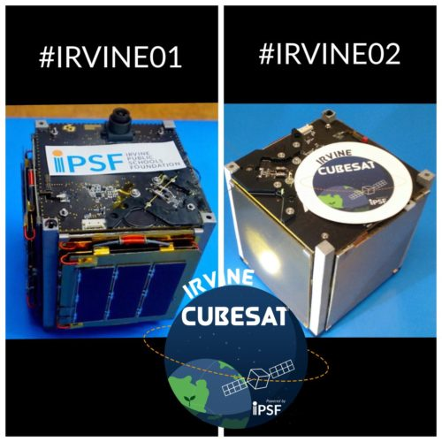 Irvine01 and Irvine02 Cubesats