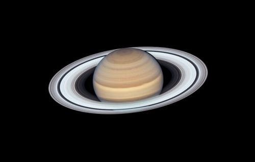Saturn as seen by Hubble Space Telescope's Wide Field Camera