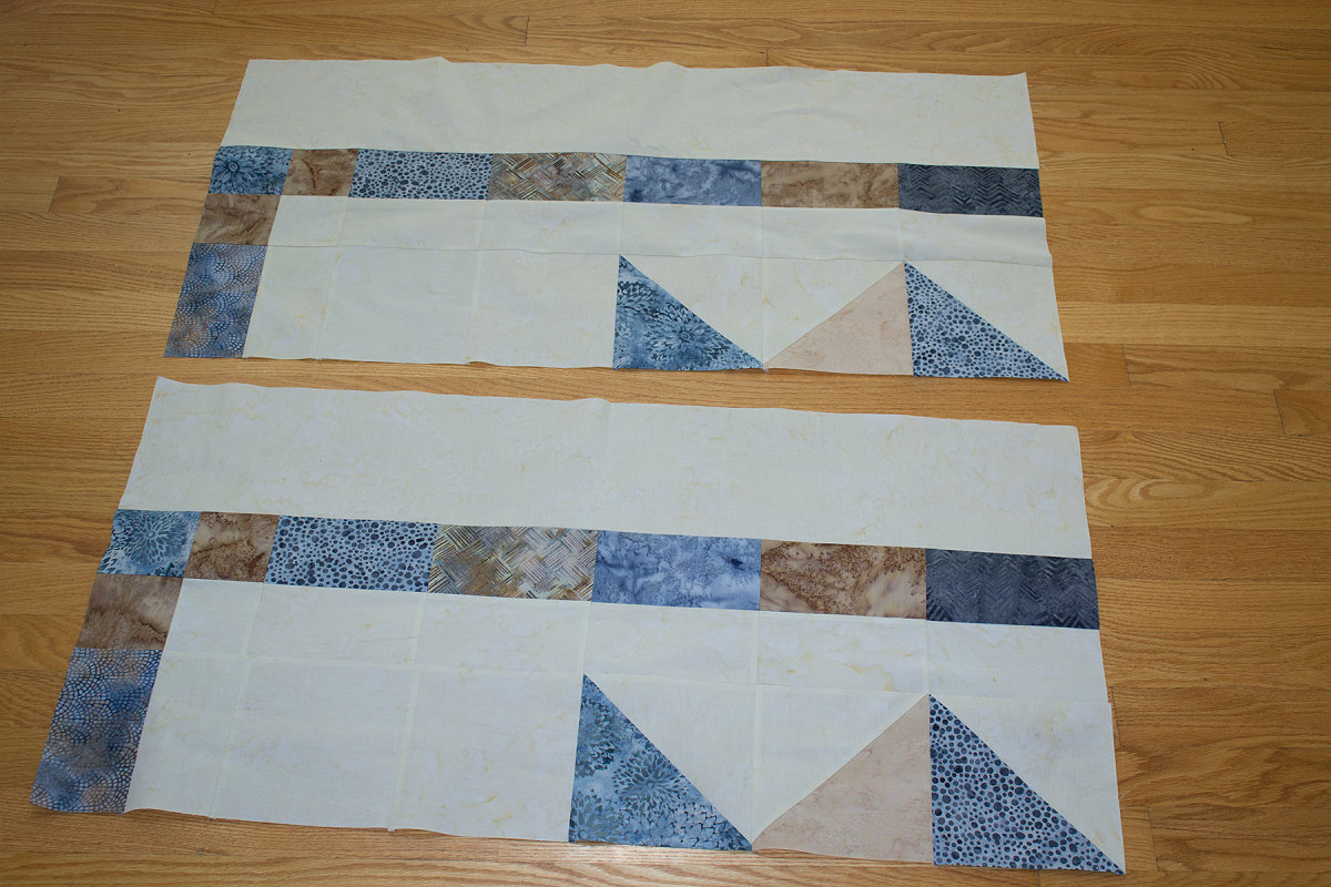 Quilt As You Go King Size Carpenter Star Finished Hobby Stash