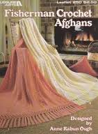 Fisherman Crochet Afghans Leisure Arts Leaflet 250