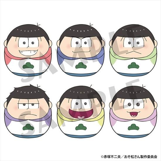 おそ松さん コロこっと 6個入り1BOX アニメ・キャラクターグッズ新作情報・予約開始速報