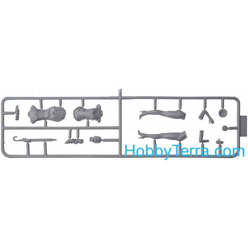 1/24 Scale plastic model Irene Leroi Master Box 24052
