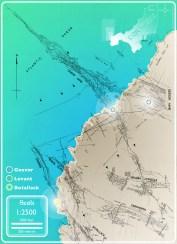 undersea mine map geevor levant botallack crown mines ocean navigation lodes seams tin copper history pendeen trewellard penwith cornwall cornish