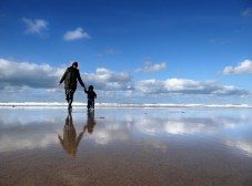 Gwithian Towans beach Cornwall