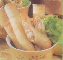 Resep Deep Fried Spring Roll (Singapore)