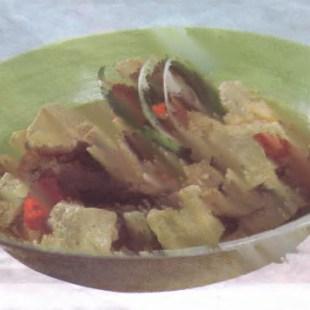 Resep Tahu Masak Cabai