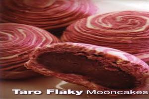 resep-taro-flaky-mooncakes